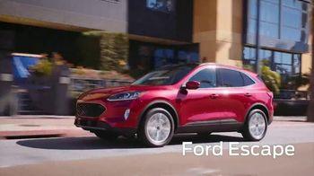2020 Ford Escape TV Spot, 'New York International Auto Show' [T2] - Thumbnail 1