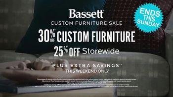 Bassett Custom Furniture Sale TV Spot, 'Before You Buy' - Thumbnail 9