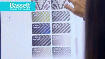 Bassett Custom Furniture Sale TV Spot, 'Before You Buy' - Thumbnail 1