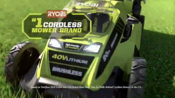 Ryobi 40V Lithium Cordless Lawn Mower TV Spot, 'The Cordless Revolution Has Arrived' - Thumbnail 2