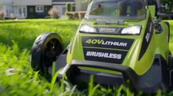 Ryobi 40V Lithium Cordless Lawn Mower TV Spot, 'The Cordless Revolution Has Arrived' - Thumbnail 9