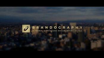 Tennis Warehouse TV Spot, 'Asics Brandography' Featuring Novak Djokovic - Thumbnail 7