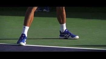 Tennis Warehouse TV Spot, 'Asics Brandography' Featuring Novak Djokovic - Thumbnail 2