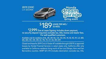 Honda Dream Garage Spring Event TV Spot, 'Cleaning' [T2] - Thumbnail 9