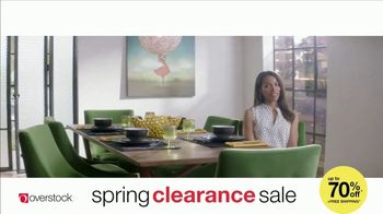 Overstock.com Spring Clearance Sale TV Spot, 'Table Runner' - Thumbnail 4