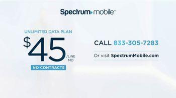 Spectrum Mobile Unlimited Data TV Spot, 'No Limitations' - Thumbnail 6