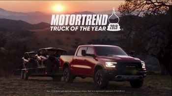 Ram Trucks Spring Sales Event TV Spot, 'Truck of the Year' Song by A Thousand Horses [T2]