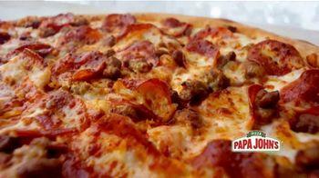 Papa John's X-Large 2-Topping Pizza TV Spot, 'You're Gonna Love This' - Thumbnail 2