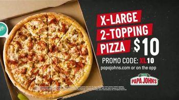 Papa John's X-Large 2-Topping Pizza TV Spot, 'You're Gonna Love This' - Thumbnail 7