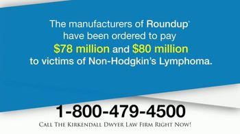 Kirkendall Dwyer LLP TV Spot, 'Roundup'