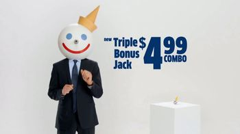 Jack in the Box Triple Bonus Jack Combo TV Spot, 'Antenna Ball' - Thumbnail 2