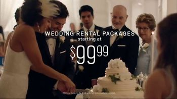 Men's Wearhouse TV Spot, 'Good on You: Wedding Rental Packages' Song by Free - 15 commercial airings