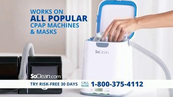 SoClean TV Spot, 'Simple to Use CPAP Cleaning'