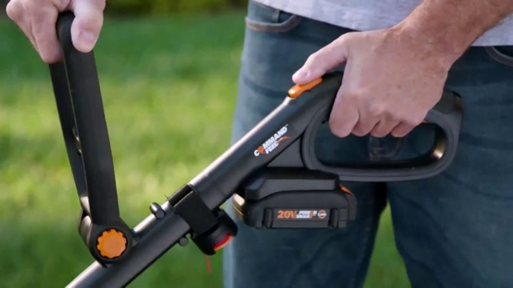 Worx GT Revolution TV Commercial, 'Cordless Grass Trimmer'