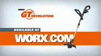 Worx GT Revolution TV Spot, 'Cordless Grass Trimmer' - Thumbnail 9