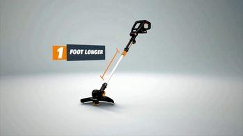 Worx GT Revolution TV Spot, 'Cordless Grass Trimmer' - Thumbnail 6