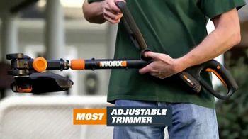 Worx GT Revolution TV Spot, 'Cordless Grass Trimmer' - Thumbnail 8