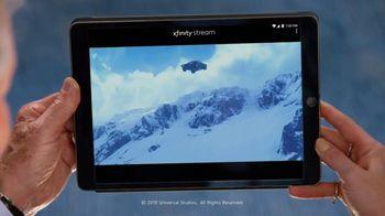 XFINITY Stream TV Spot, 'NBC: The Fate of the Furious' Featuring Tara Lipinski, Mario Andretti - Thumbnail 8