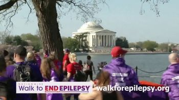 Epilepsy Foundation Walk to End Epilepsy TV Spot, '2019 Washington D.C.'
