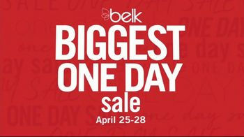 Belk Biggest One Day Sale TV Spot, 'Four-Day Doorbusters: Sandals & Bedding Sets' - Thumbnail 2