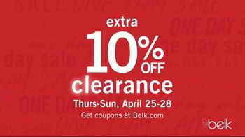 Belk Biggest One Day Sale TV Spot, 'Four-Day Doorbusters: Sandals & Bedding Sets' - Thumbnail 7