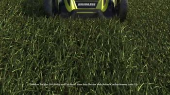 Ryobi 40V Lithium Cordless Mower TV Spot, 'Unrelenting Torque' - Thumbnail 1