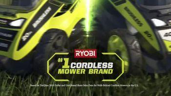 Ryobi 40V Lithium Cordless Mower TV Spot, 'Unrelenting Torque' - Thumbnail 2