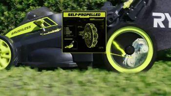 Ryobi 40V Lithium Cordless Mower TV Spot, 'Unrelenting Torque' - Thumbnail 4