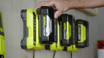Ryobi 40V Lithium Cordless Mower TV Spot, 'Unrelenting Torque'