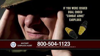 Baron & Budd, P.C. TV Spot, 'Military Earplug Failure' - Thumbnail 1