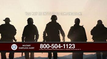 Baron & Budd, P.C. TV Spot, 'Military Earplug Failure' - Thumbnail 2