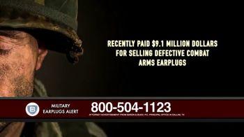 Baron & Budd, P.C. TV Spot, 'Military Earplug Failure' - Thumbnail 3