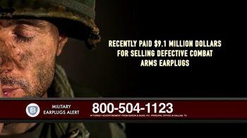 Baron & Budd, P.C. TV Spot, 'Military Earplug Failure' - Thumbnail 4