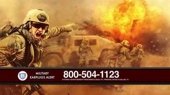 Baron & Budd, P.C. TV Spot, 'Military Earplug Failure' - Thumbnail 5
