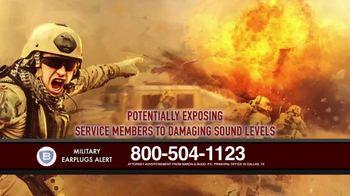 Baron & Budd, P.C. TV Spot, 'Military Earplug Failure' - Thumbnail 6