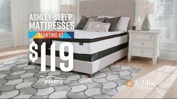 Ashley HomeStore Lowest Prices of the Season TV Spot, 'Mattresses' Song by Midnight Riot - Thumbnail 3