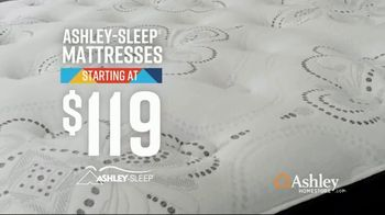 Ashley HomeStore Lowest Prices of the Season TV Spot, 'Mattresses' Song by Midnight Riot - Thumbnail 4