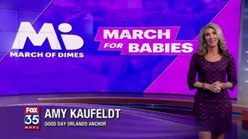 March of Dimes TV Spot, '2019 March for Babies: Orlando' - Thumbnail 1