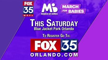 March of Dimes TV Spot, '2019 March for Babies: Orlando' - Thumbnail 10