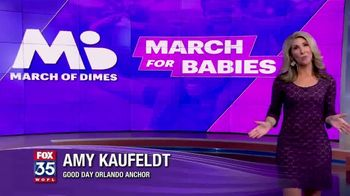 March of Dimes TV Spot, '2019 March for Babies: Orlando' - Thumbnail 2