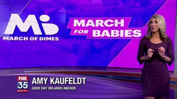 March of Dimes TV Spot, '2019 March for Babies: Orlando' - Thumbnail 3