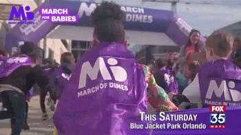March of Dimes TV Spot, '2019 March for Babies: Orlando' - Thumbnail 6