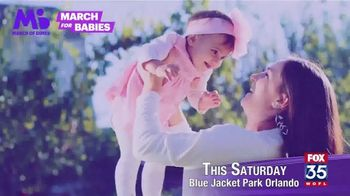 March of Dimes TV Spot, '2019 March for Babies: Orlando' - Thumbnail 7