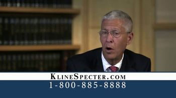 Kline & Specter TV Spot, 'One Big Difference' - Thumbnail 1
