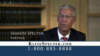 Kline & Specter TV Spot, 'One Big Difference' - Thumbnail 3