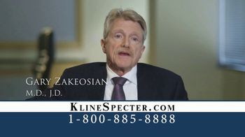 Kline & Specter TV Spot, 'One Big Difference' - Thumbnail 7