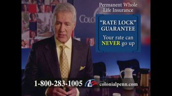 Colonial Penn TV Spot, 'Locks: Beneficiary Planner' Featuring Alex Trebek