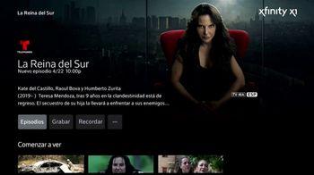 XFINITY X1 TV Spot, 'Telemundo: La Reina del Sur' con Kate del Castillo [Spanish] - 109 commercial airings