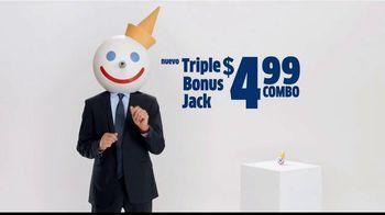 Jack in the Box Triple Bonus Jack Combo TV Spot, 'Bola de antena' [Spanish] - Thumbnail 2