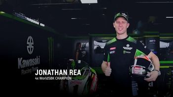 Kawasaki Good Times Sales Event TV Spot, 'Let the Good Times Roll' Jonathan Rea, Cristy Lee - 45 commercial airings